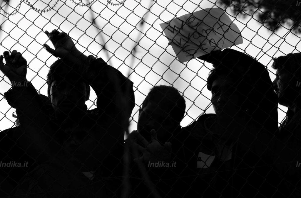 Migranti pachistani nel campo di Blamari, isola di Samos