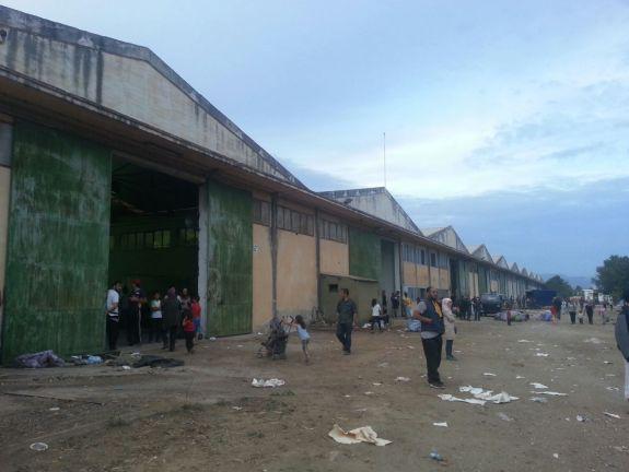 Il campo di Vasilika ora ospita i rifugiati di Eko Camp. Foto HK