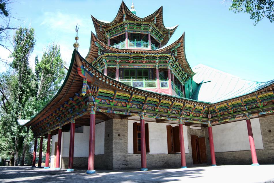 Moschea  Cinese Zharkent, Kazakstan