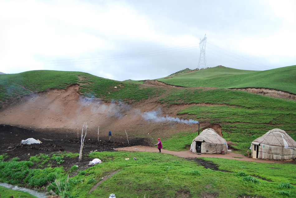 Yurte verso Naryn