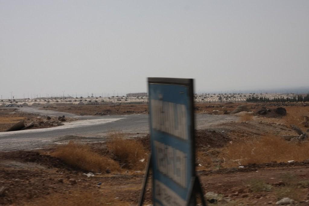 Refugee camp Suruc