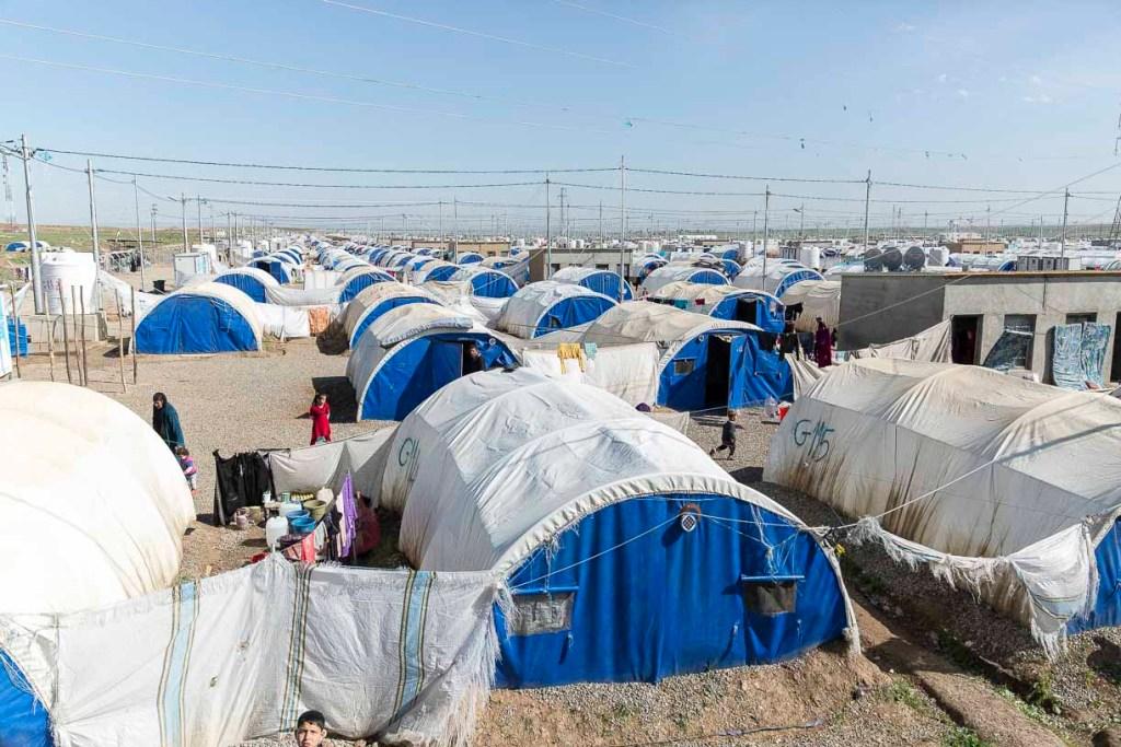 Campo profughi di al-Khazer1. Foto Emanuele Confortin (21)
