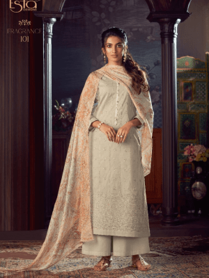 Esta Fragrance Cotton Dyed With Mukesh Work Suit 101 Salwar Suits