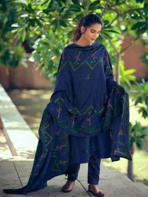 Belliza Aisha Pure Pashmina Printed Salwar Suit D.No.03 Belliza Aisha Pashmina