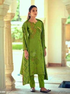Belliza Aisha Pure Pashmina Printed Salwar Suit D.No.09 Belliza Aisha Pashmina