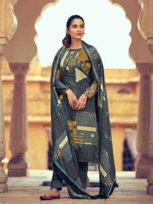 Belliza Aisha Pure Pashmina Printed Salwar Suit D.No.10 Belliza Aisha Pashmina