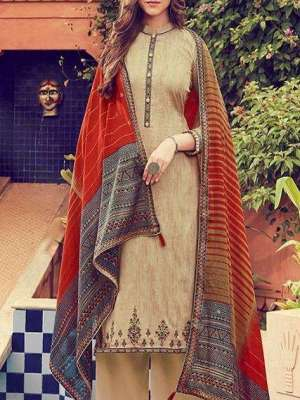 Deepsy Panghat 6 Silk Cotton Print With Embroidery Suit 51002 Ready To Ship