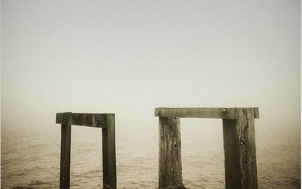 Wharf in the Mist