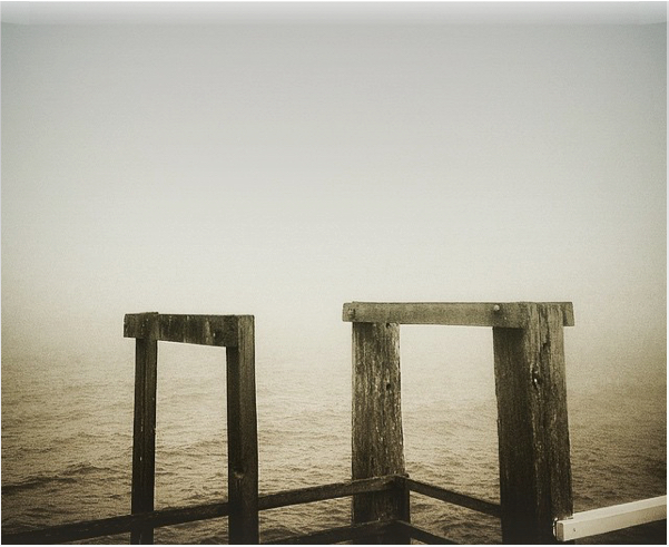Wharf in the Mist