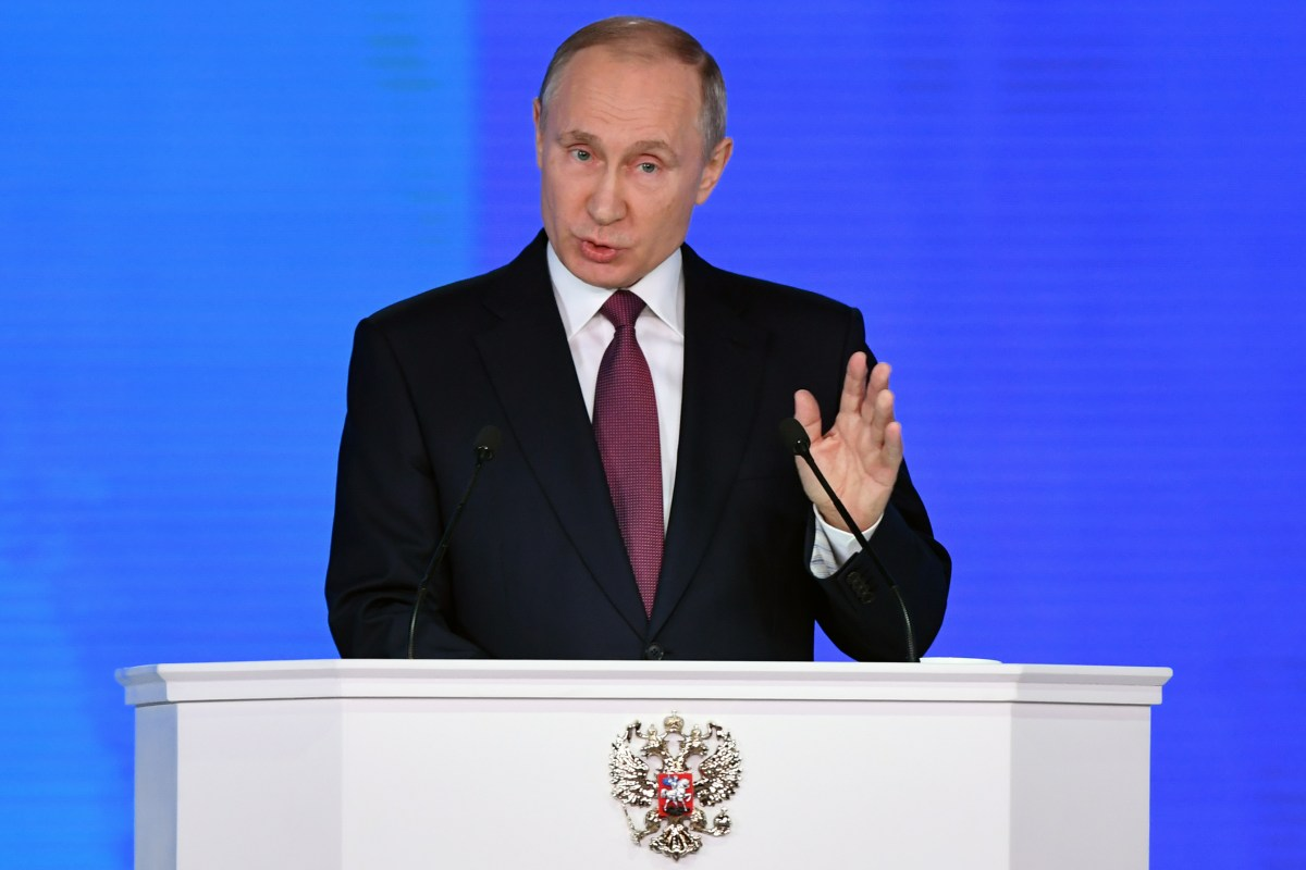 Putin Makes it Clear: Russia's Superweapons Are Reality, Already Deployed