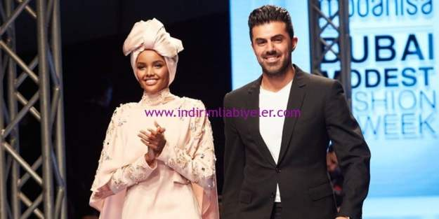 dubai modest fashion week-rasit-bagzibagli-halima aden