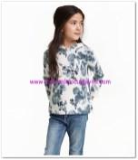HM-çiçekli kapüşonlu sweatshirt-40 TL