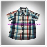 Panço çizgili erkek bebek gömlek-19,50 TL