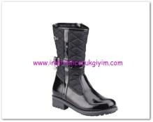 FLO kız çocuk siyah rugan kapitone çizme-80 TL