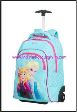Samsonite-YariyilTatili-DisneyFrozen-çekçekli çanta