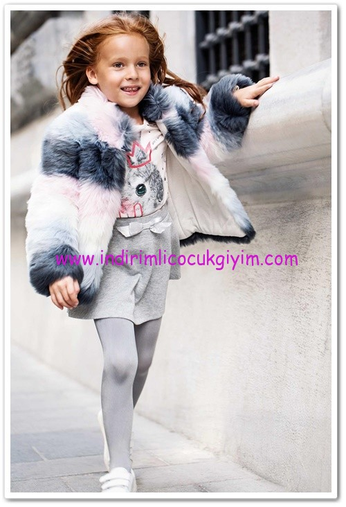 DeFacto kız çocuk peluş mont-90 TL