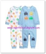 HM-kız bebek 2 li pijama takımı-40 TL
