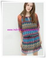 Koton şifon mini elbise-50 TL