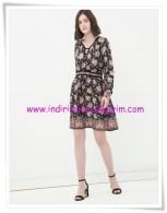Koton genç kız desenli mini elbise-23 TL