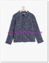 Koton lacivert erkek çocuk hakim yaka ceket-28 TL