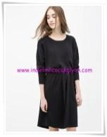 Koton siyah rahaT kesim genç kız elbise-18 TL