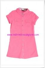 U.S Polo kız çocuk pembe elbise-30 TL