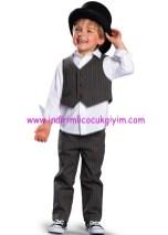 Bonprix antrasit erkek çocuk 3lü takım elbise