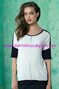 Ebru Maternity hamile bluz