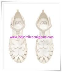 HM kız çocuk beyaz kelebekli kostüm ayakkabısı-60 TL