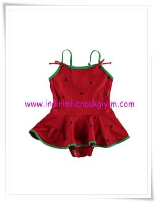 LCW kız çocuk kırmızı mayo-15 TL