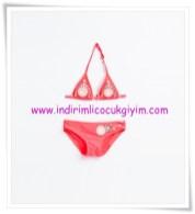 Zara kız çocuk çiçek baskılı bikini-56 TL
