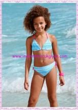 Bonprix mavi kız çocuk bikini-28 TL