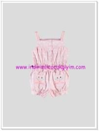 LCW kız bebek pembe salopet-35 TL