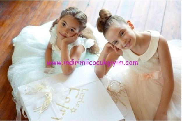 Little Fairy 2016 kız çocuk abiye elbiseleri