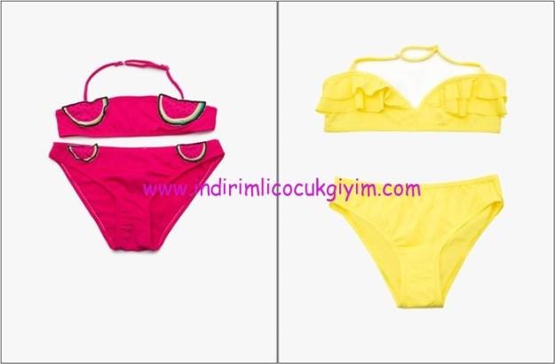 Koton Kids yeni sezon kız çocuk bikini modelleri