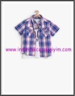 Koton erkek çocuk gömlek-tişört takım