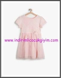 Koton kız çocuk pembe elbise