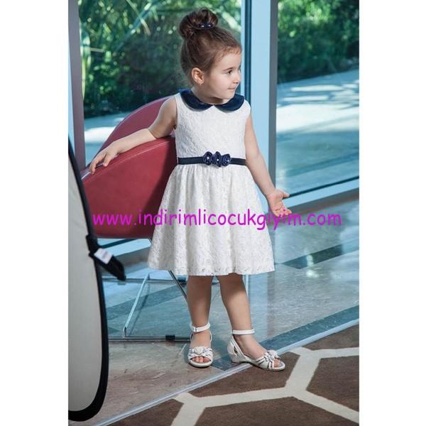 Civil 2-5 yaş dantelli elbise