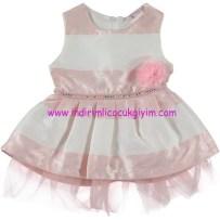 Civil kız çocuk pembe abiye elbise