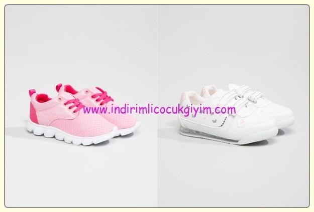 LC Waikiki kız çocuk spor ayakkabı modelleri