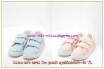 Koton bağcıksız kumaş 23 nisan ayakkabıları
