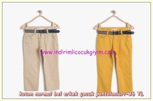 Koton erkek çocuk pantolon modelleri