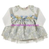 civil 9-24 ay bebek elbisesi