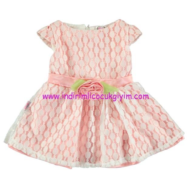 civil baby dantelli elbise-6-24 ay-somon