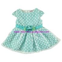civil baby dantelli elbise-mint yeşili