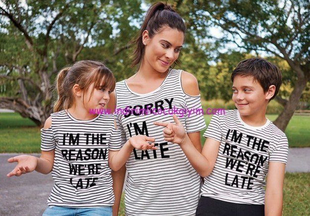 lc waikiki anne-çocuk tişörtleri