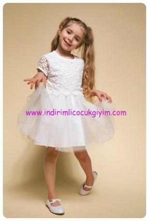 defacto kız çocuk 23 nisan elbisesi