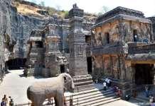 कैलाश मंदिर - एलोरा गुफाएं - विश्व धरोहर