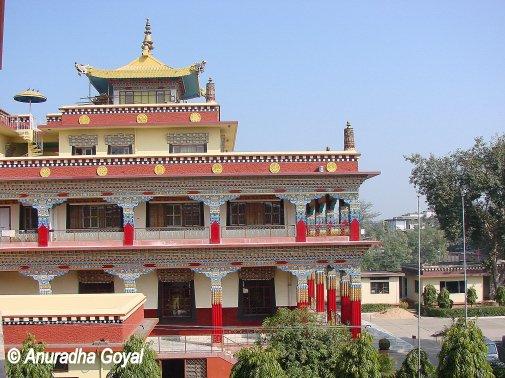 बोधगया के नए बौद्ध विहार