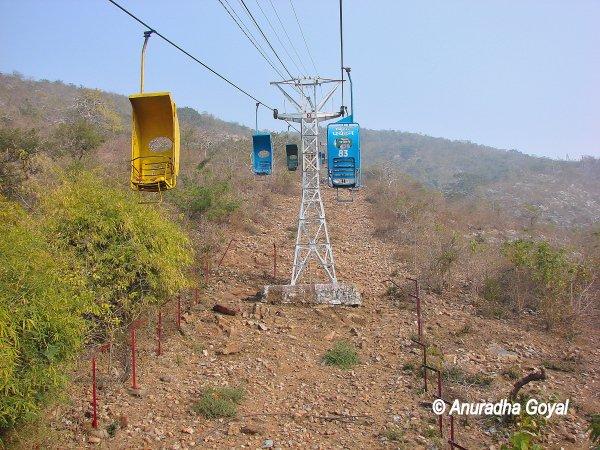 किसी ज़माने का रोपवे - राजगीर, बिहार